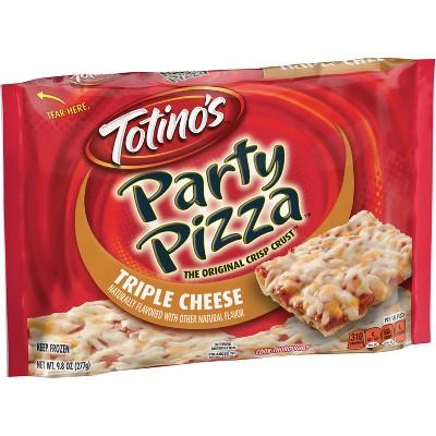 Totino's Triple Cheese Party Frozen Pizza - 9.8oz