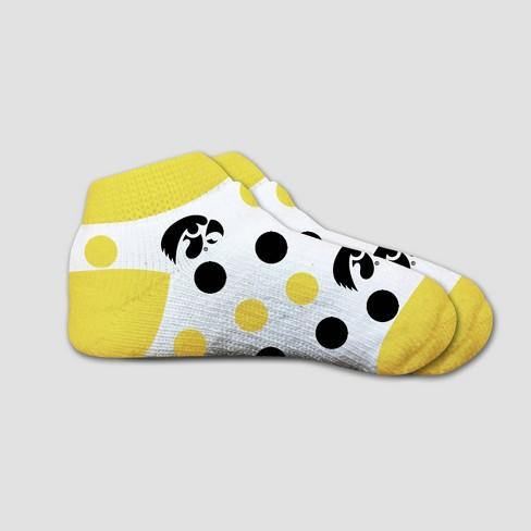 NCAA Iowa Hawkeyes Polka Dot Infant Sock 2T-4T - image 1 of 1