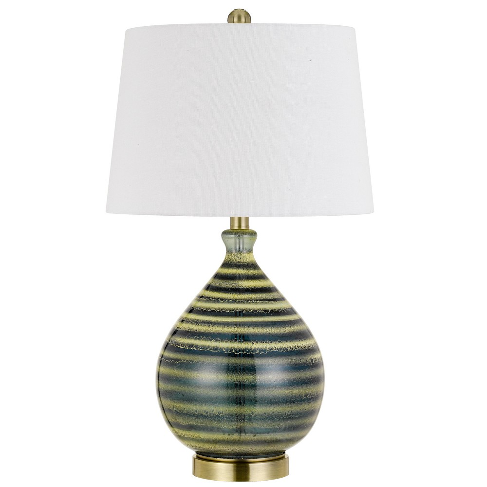 Image of 150W 3 Way Arpino Glass Table Lamp (Priced And Sold In Pairs) (Lamp Only) - Cal Lighting, Multi-Colored