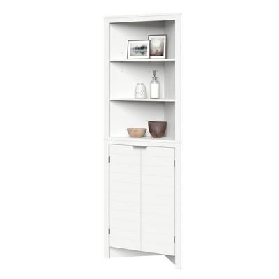 Madison Collection Tall Corner Cabinet - RiverRidge Home