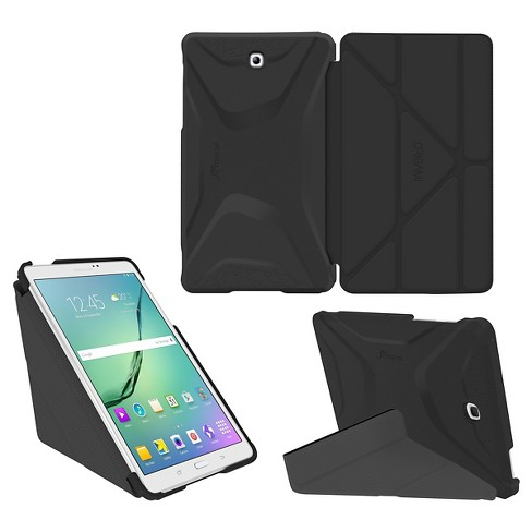 Roocase Galaxy Tab S2 9.7 Origami 3D Case - Granite Black / Gray - image 1 of 2