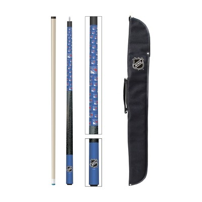 NHL New York Rangers Cue And Case Combo Set