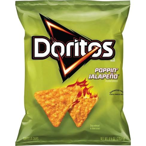 doritos poppin jalapeno corn chips 9 75oz target