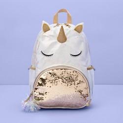 "17"" Kids' Backpack Unicorn White - More Than Magic™"