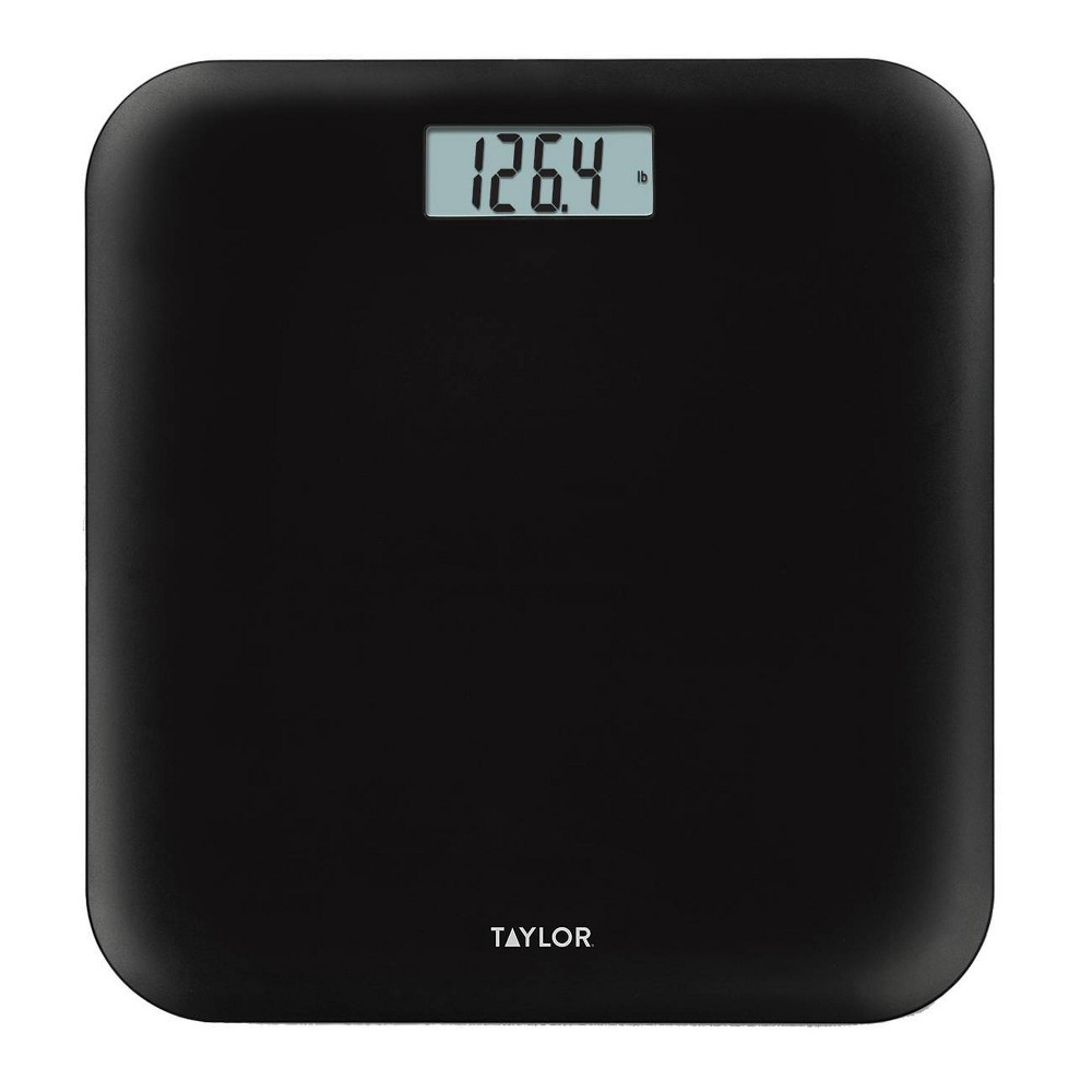 Image of Digital Pillow Top Scale Black - Taylor
