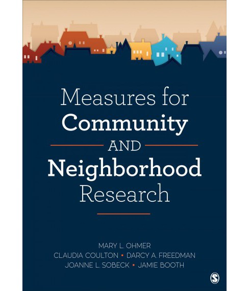 Measures for Community and Neighborhood Research -  (Paperback) - image 1 of 1