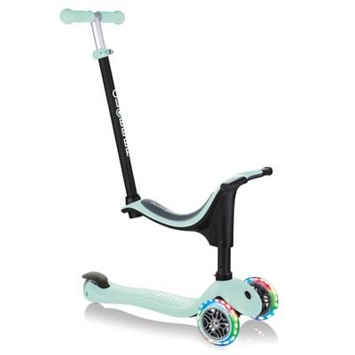 Globber Go Up 4 in 1 Lights Scooter - Pastel Green