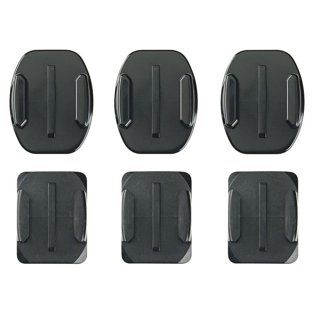 GoPro Flat + Curved Adhesive Mounts, Black