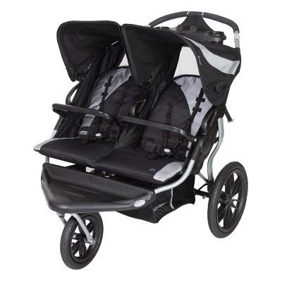 Baby Trend Navigator Lite Double Jogger Stroller - Europa