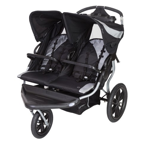 Baby Trend Navigator Lite Double Jogger, Baby Trend Expedition Jogging Stroller Compatible With Chicco Car Seat