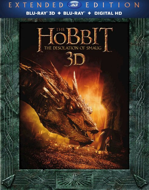 The Hobbit: The Desolation of Smaug 3D [Includes Digital Copy] [UltraViolet] [3D/2D] [Blu-ray] - image 1 of 1