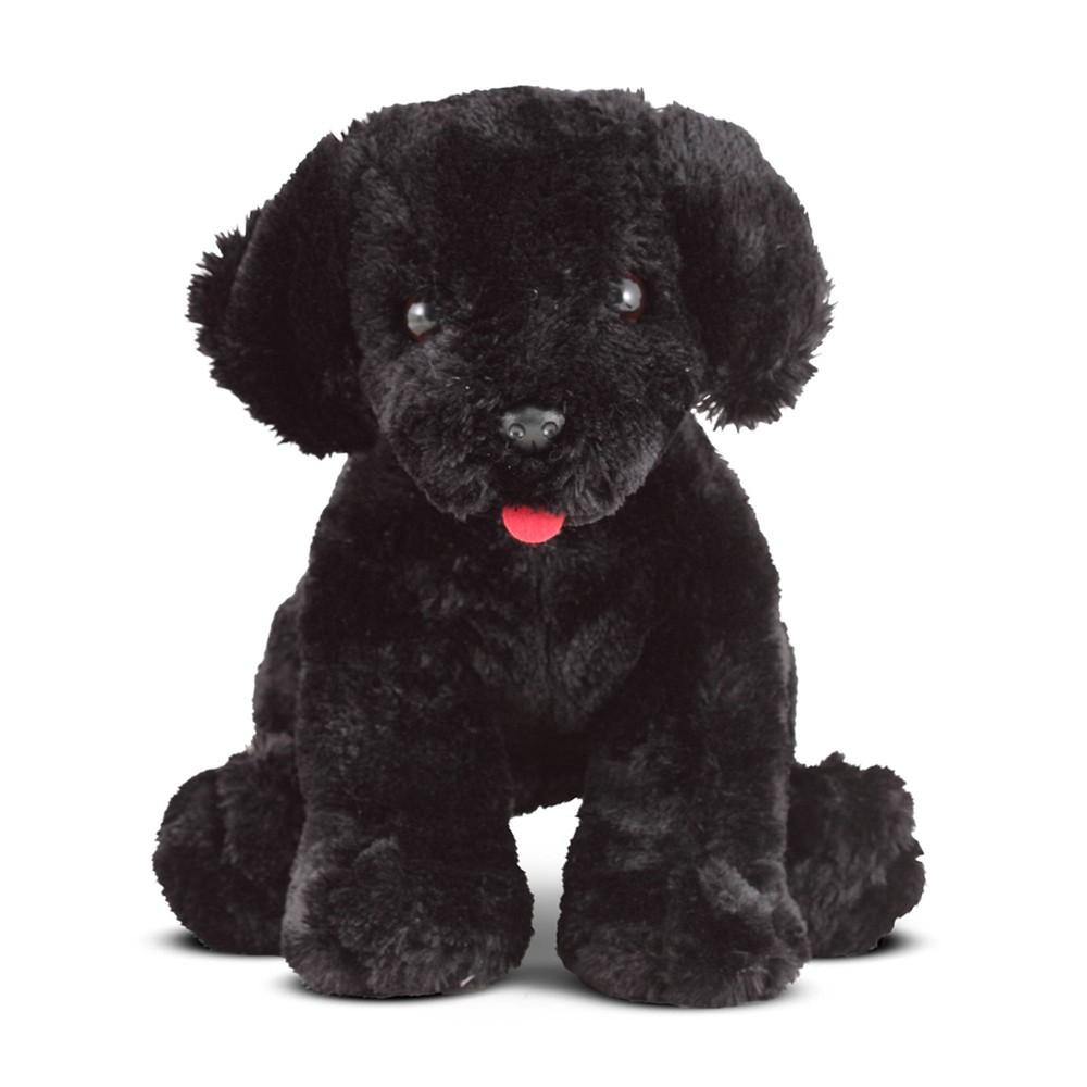 Melissa 38 Doug Benson Black Lab Stuffed Animal Puppy Dog