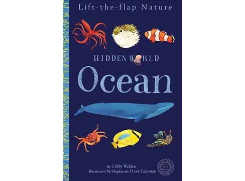 Hidden World Ocean -  (360 Degrees) by Libby Walden (Hardcover) - image 1 of 1