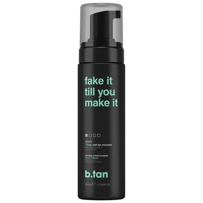 b.tan Fake It Till You Make It Self Tan Mousse - 6.7 fl oz