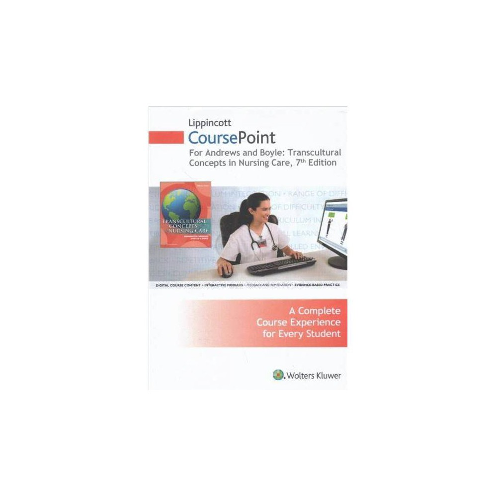 Transcultural Concepts in Nursing Care Lippincott Coursepoint Access Code - 7 Psc (Hardcover)