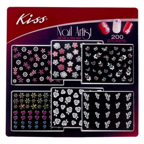 About this item - Kiss® Nail Art Variety Pack : Target