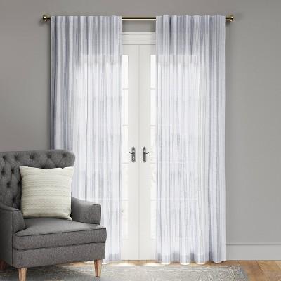 Simple Stripe Window Curtain Panel - Threshold™