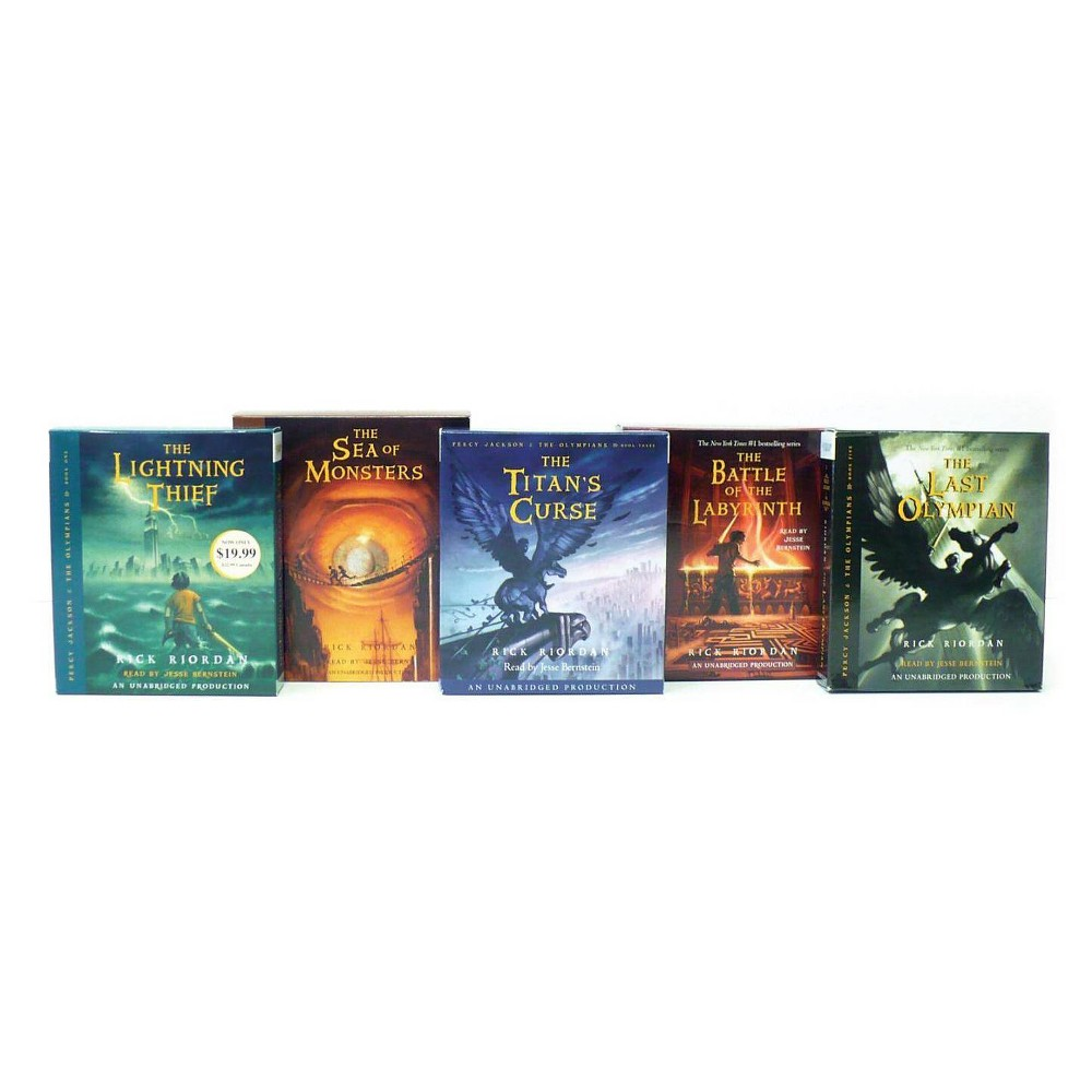 Percy Jackson and the Olympians Books 1-5 CD Collection - by Rick Riordan (AudioCD)