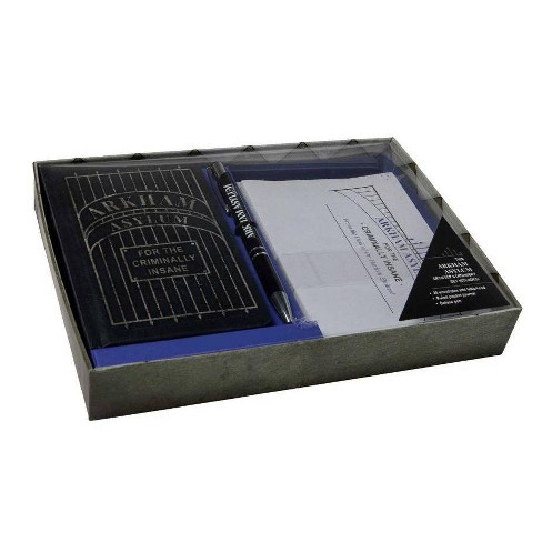 DC Comics: Arkham Asylum Desktop Stationery Set (with Pen) - by  Insight Editions (Hardcover) - image 1 of 1