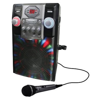 iLive Bluetooth Karaoke CD+G with LED Lights