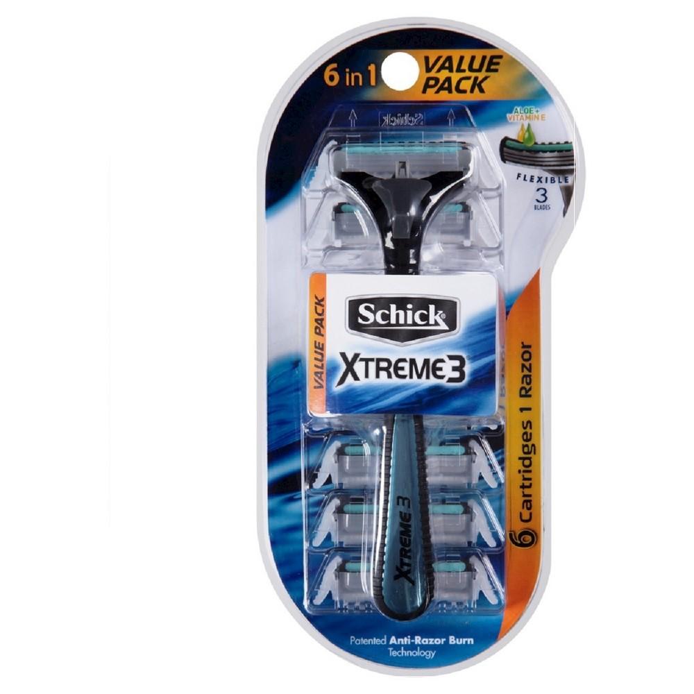 Razor Blades: Schick Xtreme 3