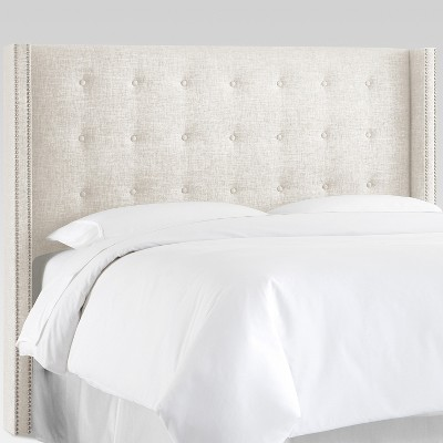 Nail Button Tufted Wingback Headboard - Threshold™
