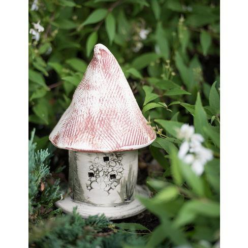 Stoneware Ladybug Castle - Amaranth Stoneware, LTD - image 1 of 1