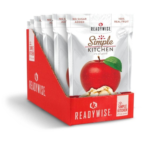 READYWISE Gluten Free Simple Kitchen Sweet Apples Freeze-Dried Fruit - 4.2oz/6ct - image 1 of 3