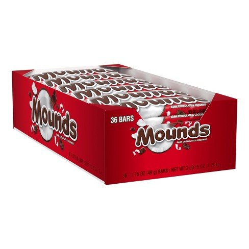 Mounds Dark Chocolate & Coconut Bars - 15oz - 36ct - image 1 of 4