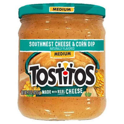 Salsas & Dips: Tostitos Southwest Cheese and Corn Dip