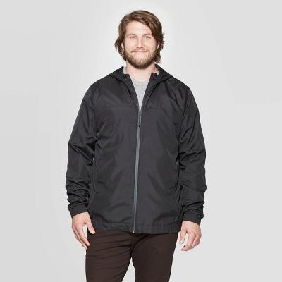 Men's Big & Tall Lightweight Rain Jacket - Goodfellow & Co™