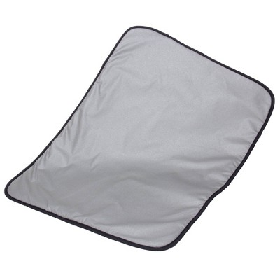 Household Essentials Silicone-Coated Ironing Blanket Silver