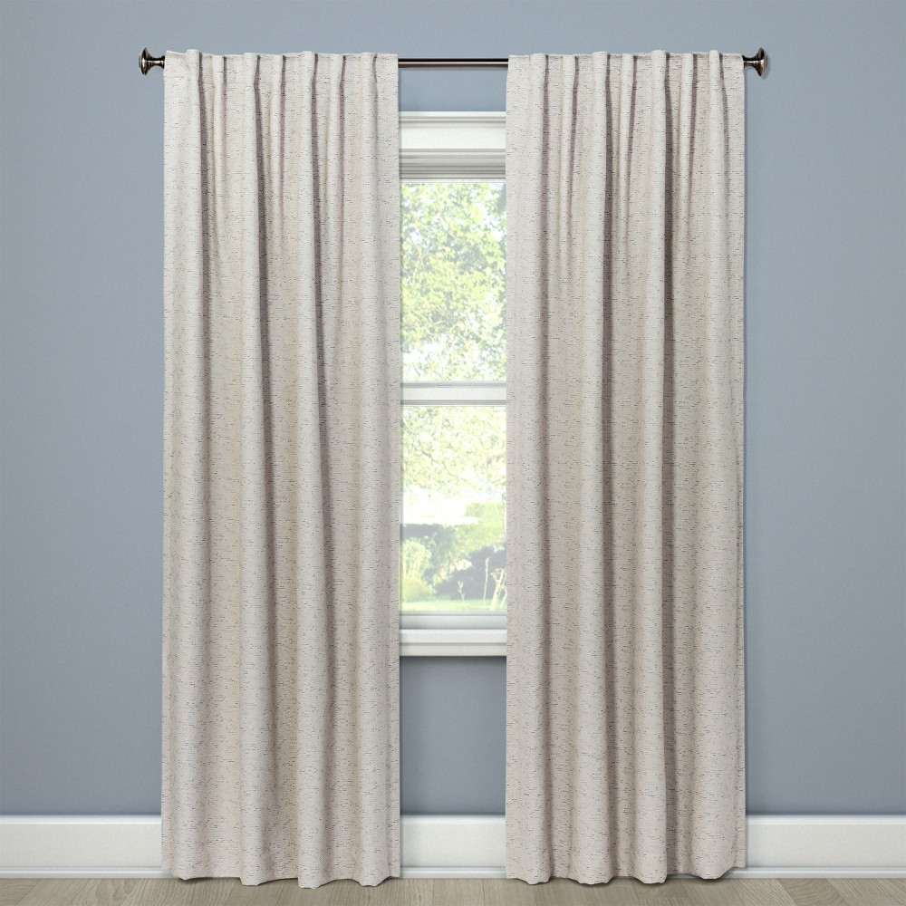 """Image of """"108"""""""" Doral Curtain Panel Cream - Project 62 , Blue"""""""