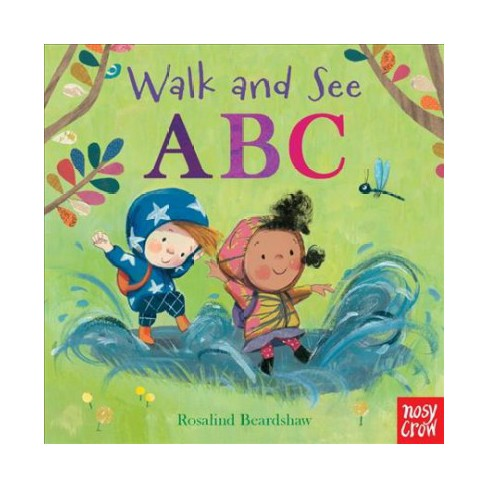 Walk and See: ABC - (Board_book) - image 1 of 1