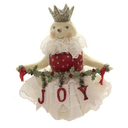 """Heather Myers 5.75"""" Snow Joy Snowman Crown Holly - image 1 of 3"""