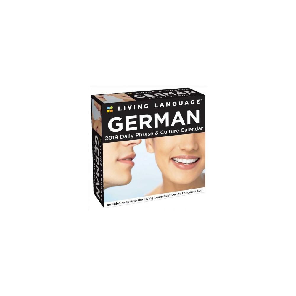 Living Language German 2019 Daily Phrase & Culture Calendar - Bilingual (Paperback)