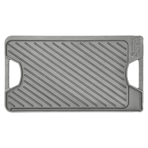 """Calphalon Pre-Seasoned Reversible 10"""" x 18"""" Cast Iron Grill/Griddle - image 1 of 4"""