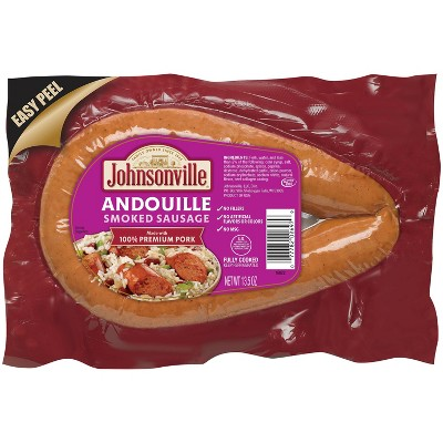 Johnsonville Pork Andouille Sausage Rope - 13.5oz