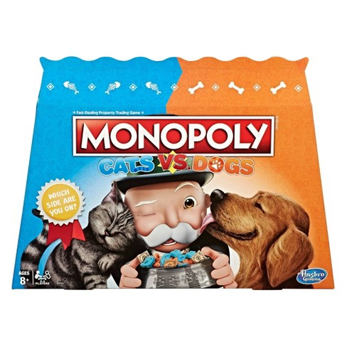 Monopoly Cats vs. Dogs Board Game - image 1 of 11