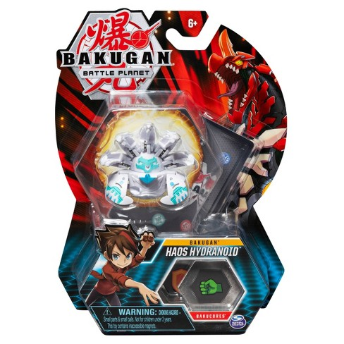 """Bakugan Haos Hydranoid 2""""Collectible Action Figure and Trading Card - image 1 of 4"""