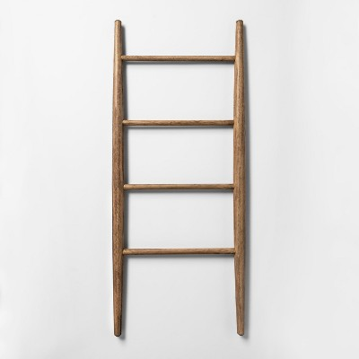 42  x 18  Decorative Wood Ladder Brown - Threshold™
