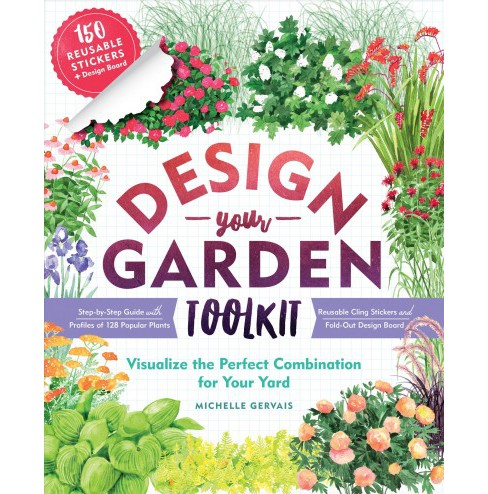 Design-Your-Garden Toolkit : Visualize the Perfect Plant Combinations for Your Yard; Step-by-step Guide  - image 1 of 1