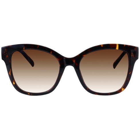Women's Square Tort Sunglasses - A New Day™ Brown - image 1 of 2