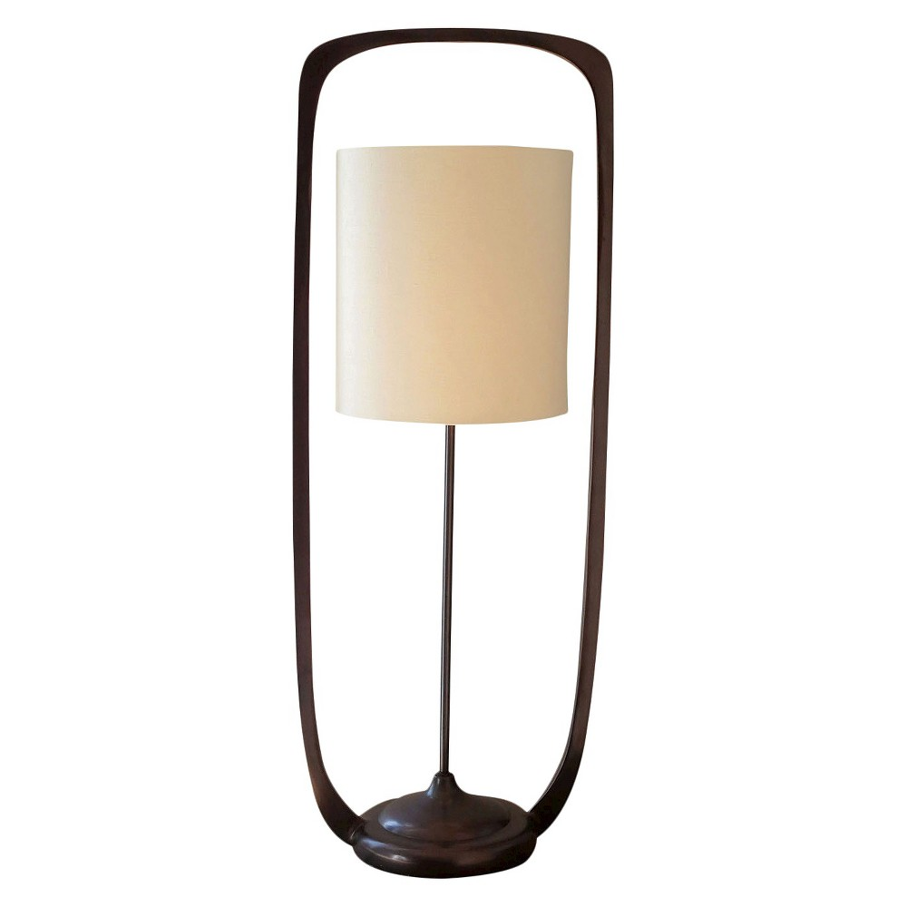 Metal Frame Lamp with Shade