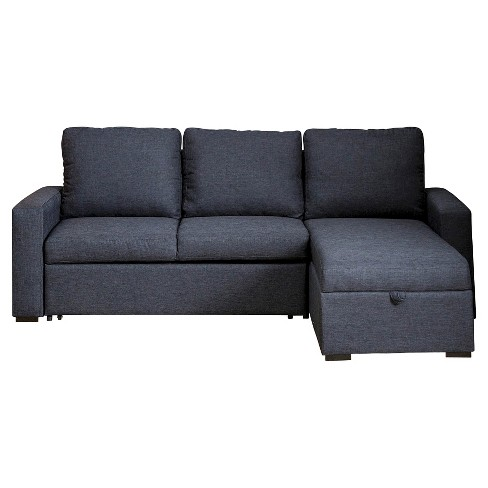 Newport Sofa and Chaise Sectional - Gray - Abbyson Living - image 1 of 9