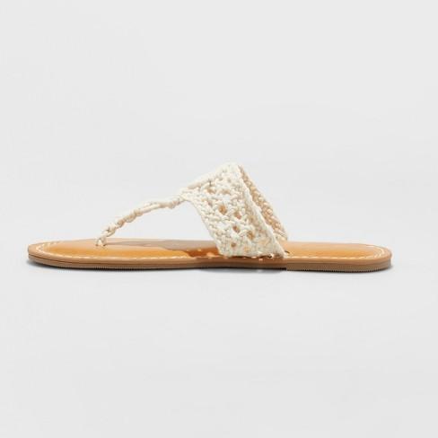 467262b74 Women s Maybelle Flip Flop Sandal - Universal Thread™ Cream 5   Target