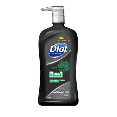 Body Washes & Gels: Dial for Men 3-In-1