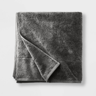 Modal Bath Sheet Dark Gray - Casaluna™