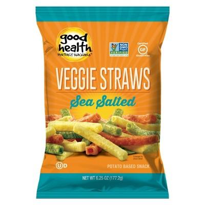Good Health Sea Salt Veggie Straws - 6.25oz