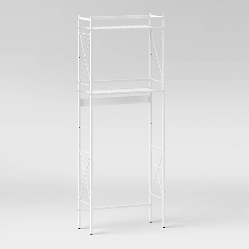 Square Tube Over the Toilet Etagere - Threshold™ - image 1 of 2
